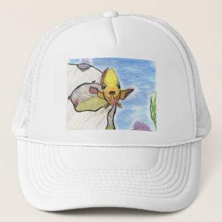 Winning artwork by K. Gill, Grade 9 Trucker Hat
