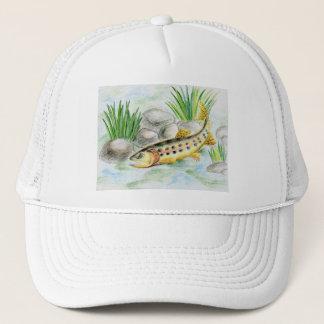 Winning artwork by K. Lu, Grade 6 Trucker Hat
