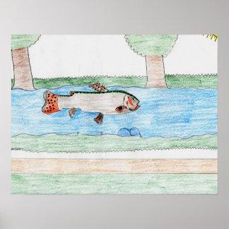 Winning artwork by K. Rodriguez, Grade 8 Posters