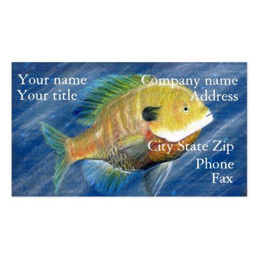 Winning artwork by K. Walker, Grade 12 Business Card Templates