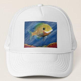 Winning artwork by K. Walker, Grade 12 Trucker Hat