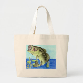 Winning artwork by L. Anderson, Grade 11 Large Tote Bag