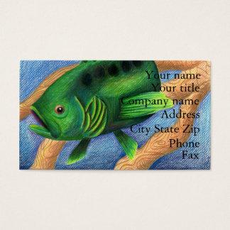 Winning artwork by L. Miller, Grade 11 Business Card