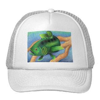 Winning artwork by L. Miller, Grade 11 Trucker Hat