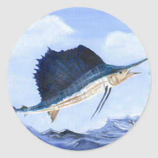 Winning artwork by M. Howard, Grade 6 Round Stickers