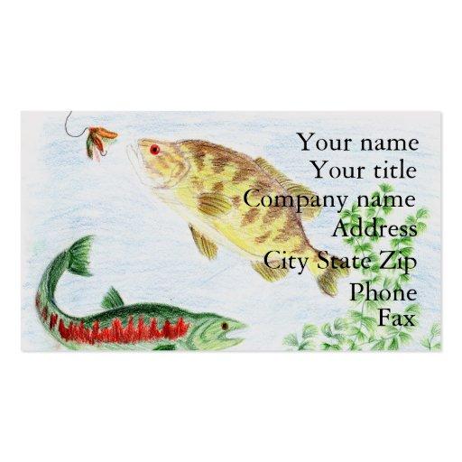 Winning artwork by M. Nadeau, Grade 6 Business Card Template