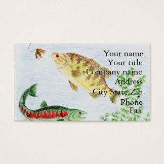 Winning artwork by M. Nadeau, Grade 6 Business Card