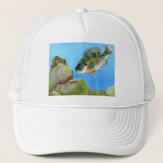 Winning artwork by M. Peet, Grade 11 Trucker Hat