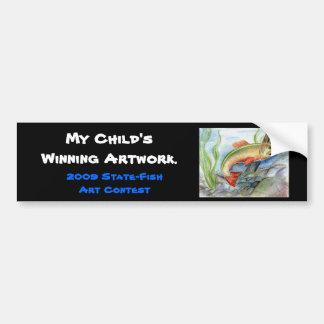 Winning artwork by M. Tcherneikina, Grade 8 Bumper Sticker