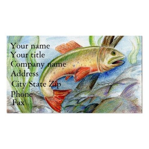 Winning artwork by M. Tcherneikina, Grade 8 Business Cards