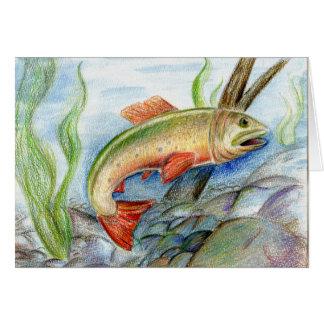 Winning artwork by M. Tcherneikina, Grade 8 Card