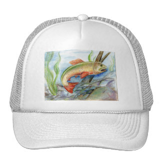 Winning artwork by M. Tcherneikina, Grade 8 Trucker Hat