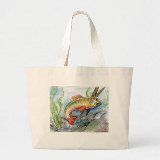Winning artwork by M. Tcherneikina, Grade 8 Large Tote Bag