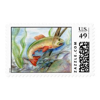 Winning artwork by M. Tcherneikina, Grade 8 Postage Stamp