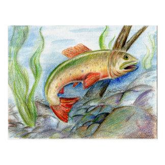Winning artwork by M. Tcherneikina, Grade 8 Postcard