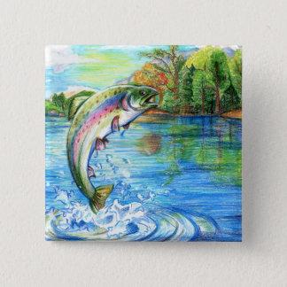Winning artwork by M. Yuan, Grade 9 Button