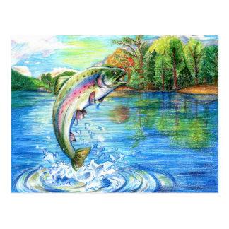 Winning artwork by M. Yuan, Grade 9 Postcard