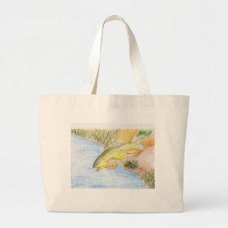 Winning artwork by O. Twiford, Grade 6 Large Tote Bag