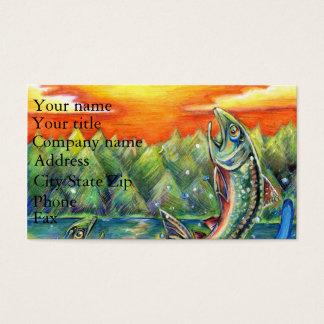 Winning artwork by R. Hasegawa, Grade 10 Business Card