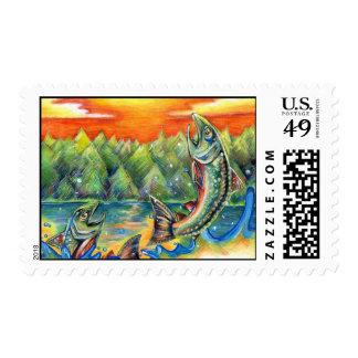 Winning artwork by R Hasegawa Grade 10 Postage Stamp