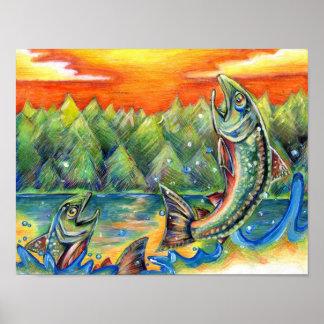 Winning artwork by R. Hasegawa, Grade 10 Poster
