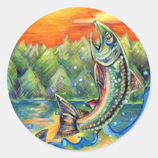 Winning artwork by R. Hasegawa, Grade 10 Stickers
