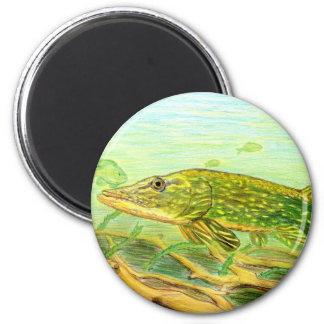 Winning artwork by R. Hinkens, Grade 5 2 Inch Round Magnet