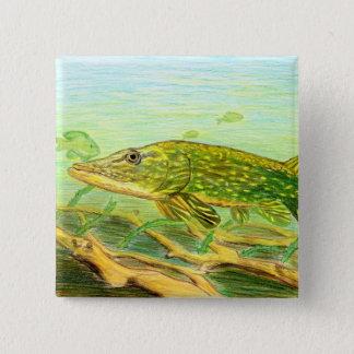 Winning artwork by R. Hinkens, Grade 5 Pinback Button