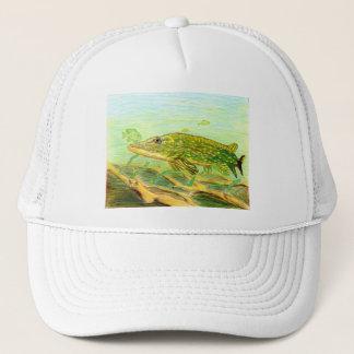 Winning artwork by R. Hinkens, Grade 5 Trucker Hat