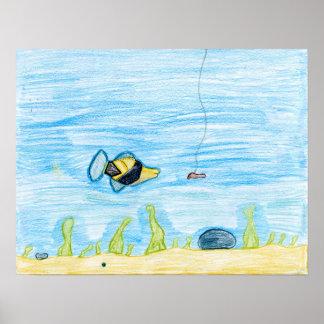 Winning artwork by R. Lacher, Grade 4 Poster