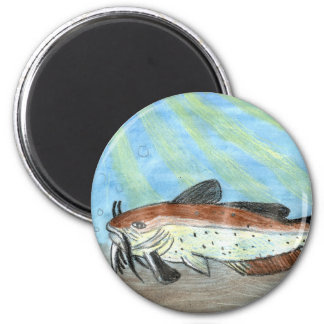 Winning artwork by S. Carter, Grade 6 2 Inch Round Magnet