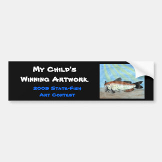 Winning artwork by S. Carter, Grade 6 Bumper Sticker
