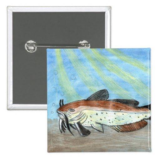Winning artwork by S. Carter, Grade 6 Buttons