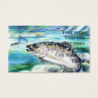 Winning artwork by S. Kang, Grade 11 Business Card