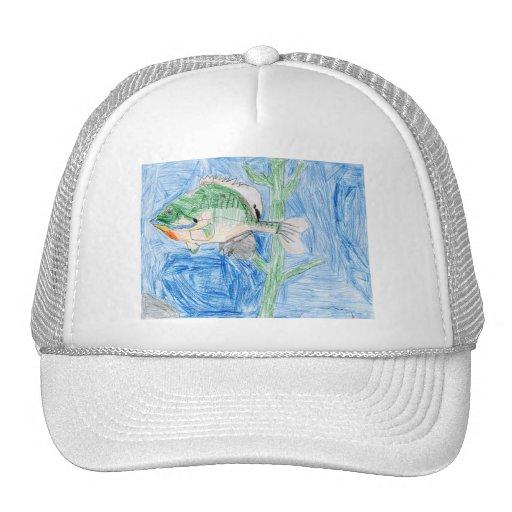 Winning artwork by S. Karch, Grade 4 Hat