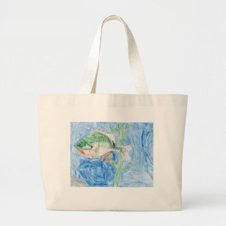 Winning artwork by S. Karch, Grade 4 Large Tote Bag