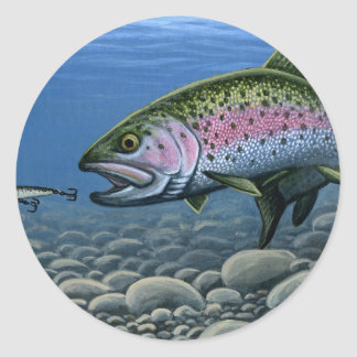 Winning artwork by S. Spradlin, Grade 12 Classic Round Sticker