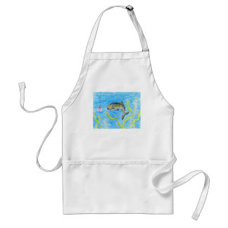 Winning artwork by S. Tomko, Grade 6 Adult Apron