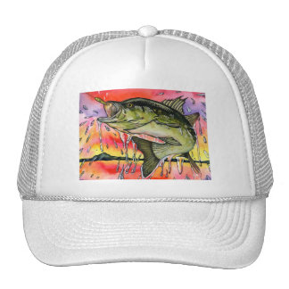 Winning artwork by S. Tu, Grade 9 Trucker Hat