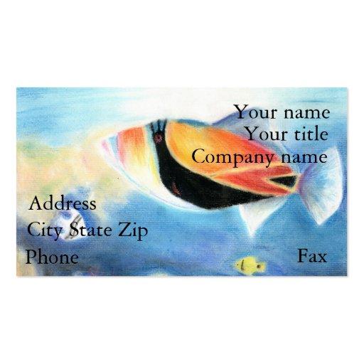 Winning artwork by S. Yang, Grade 12 Business Cards