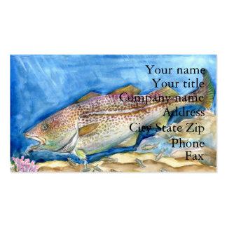 Winning artwork by S. Zhang, Grade 4 Business Card