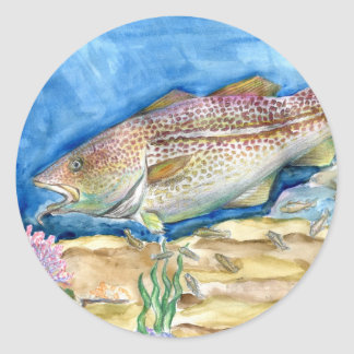 Winning artwork by S. Zhang, Grade 4 Stickers