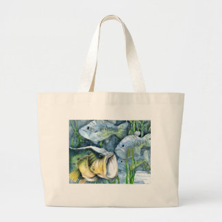 Winning artwork by T. An, Grade 9 Jumbo Tote Bag