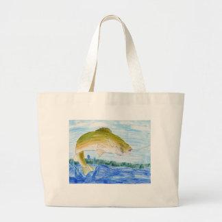 Winning artwork by T. Gilbertson, Grade 6 Large Tote Bag