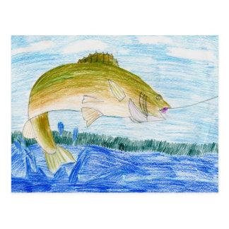 Winning artwork by T. Gilbertson, Grade 6 Postcard