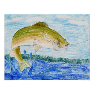 Winning artwork by T. Gilbertson, Grade 6 Print