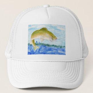 Winning artwork by T. Gilbertson, Grade 6 Trucker Hat