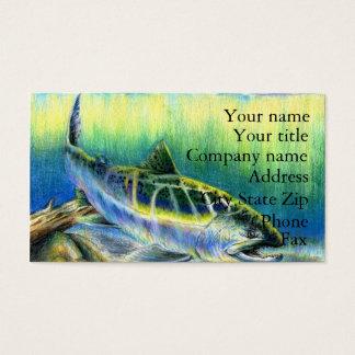 Winning artwork by T. Lee, Grade 9 Business Card