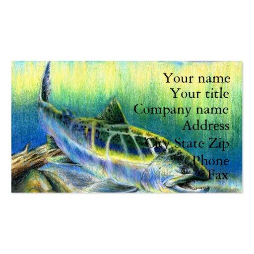 Winning artwork by T. Lee, Grade 9 Business Card Templates