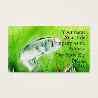 Winning artwork by T. Perkins, Grade 7 Business Card
